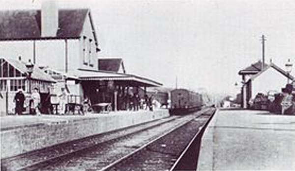 Holsworthy Station circa 1902